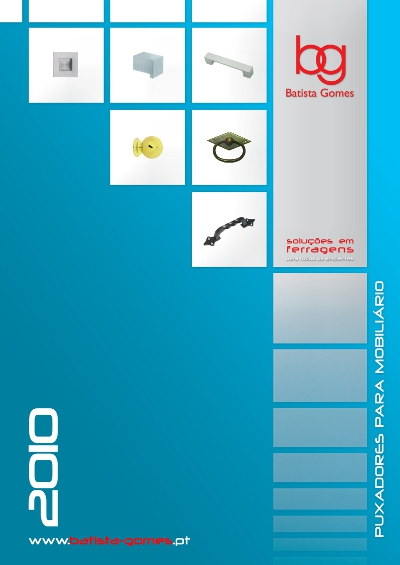 Catálogo Puxadores Mobiliário 2010