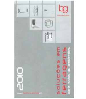 Catálogo desdobrável 2010
