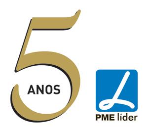 PME L�der 5 anos consecutivos