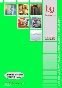Catálogo Equipamento para Mobiliário e Armários