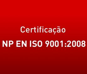 Certificação norma NP EN ISO 9001:2008