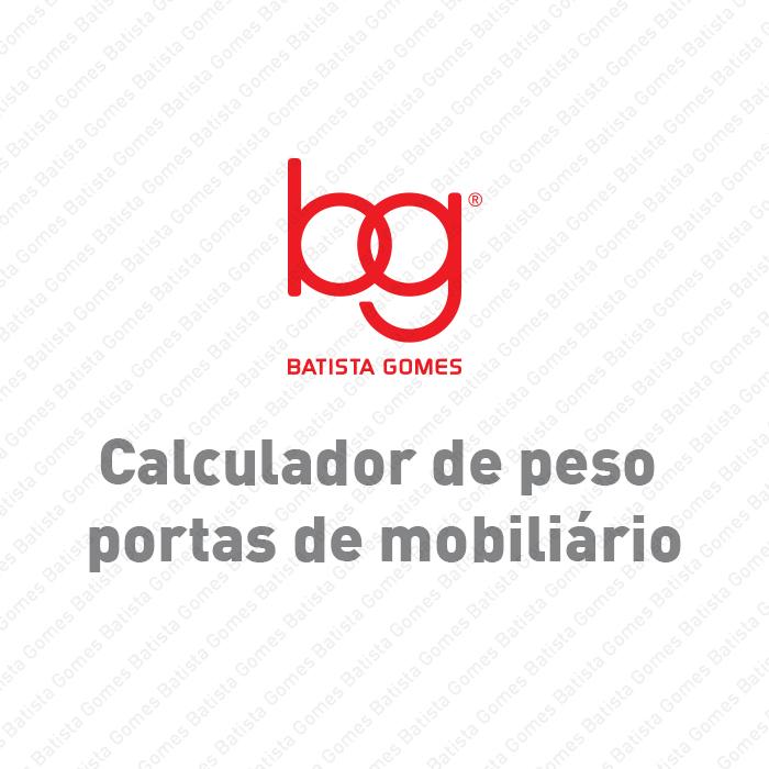 Batista Gomes - Calculador de Peso - Calculador de peso portas de armário