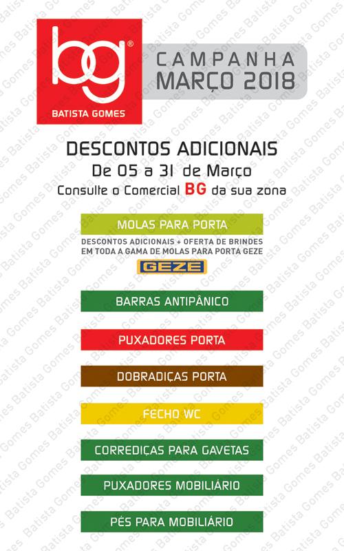 Batista Gomes - MARÇO 2018 - DESCONTOS ADICIONAIS