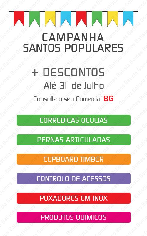 Batista Gomes - Campanha Santos Populares - + DESCONTOS