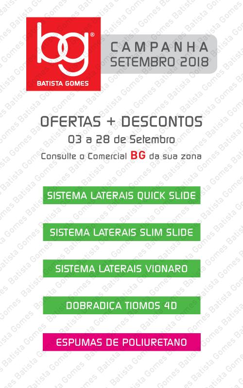 Batista Gomes - SETEMBRO 2018 - OFERTAS + DESCONTOS ADICIONAIS