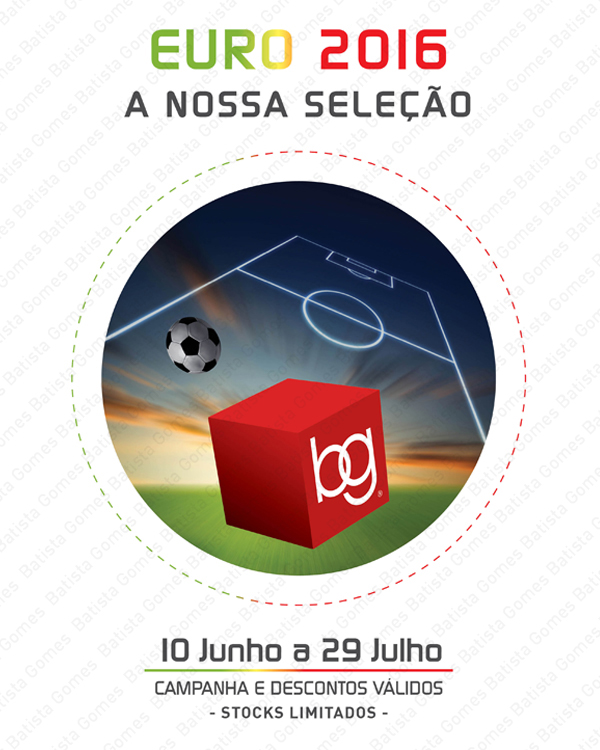 Batista Gomes - Campanha EURO 2016 - A nossa sele��o - AT� 29 DE JULHO