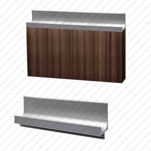 Batista Gomes - PM.9900 - Puxador em perfil de alumínio para mobiliário