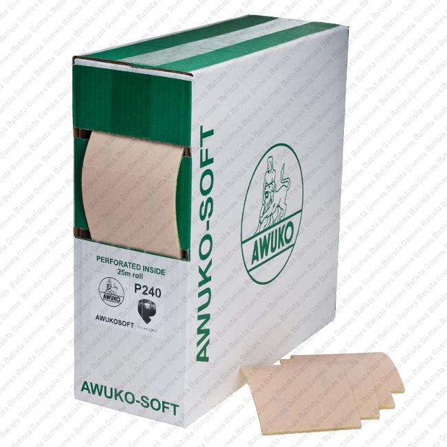 Batista Gomes - ROLOS LIXA PAPEL - AWUKO SOFT - Rolos lixa papel