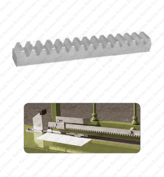 Batista Gomes - C.473 / C.973 INOX - Cremalheiras dentadas para portões de correr