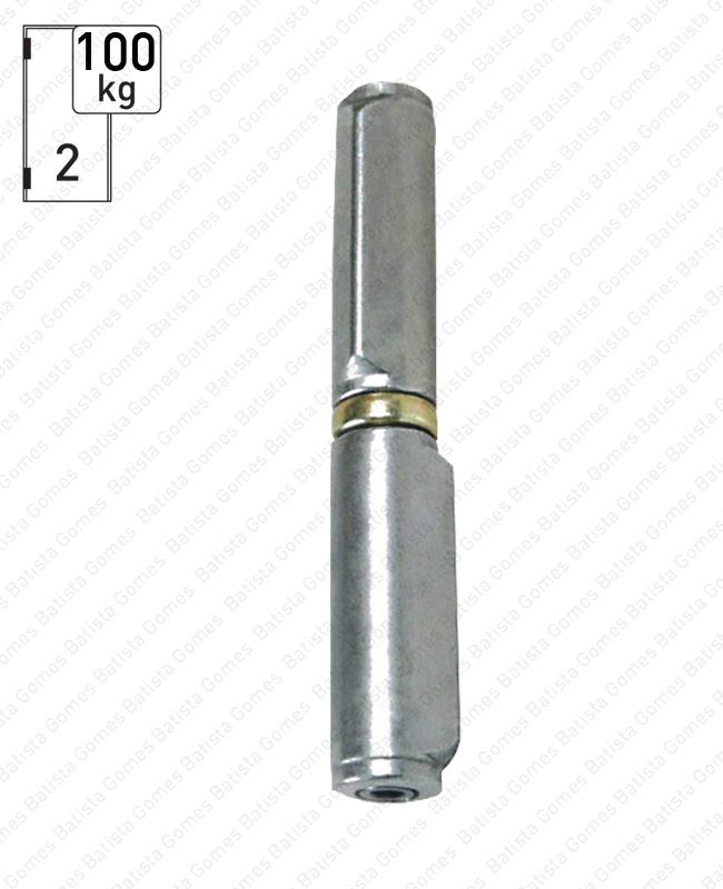 Batista Gomes - O.415.R - Olhal (dobradiça) para soldar regulável - AÇO