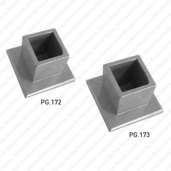 Batista Gomes - PG.172 / PG.173 - Peças decorativas para portões / gradeamentos