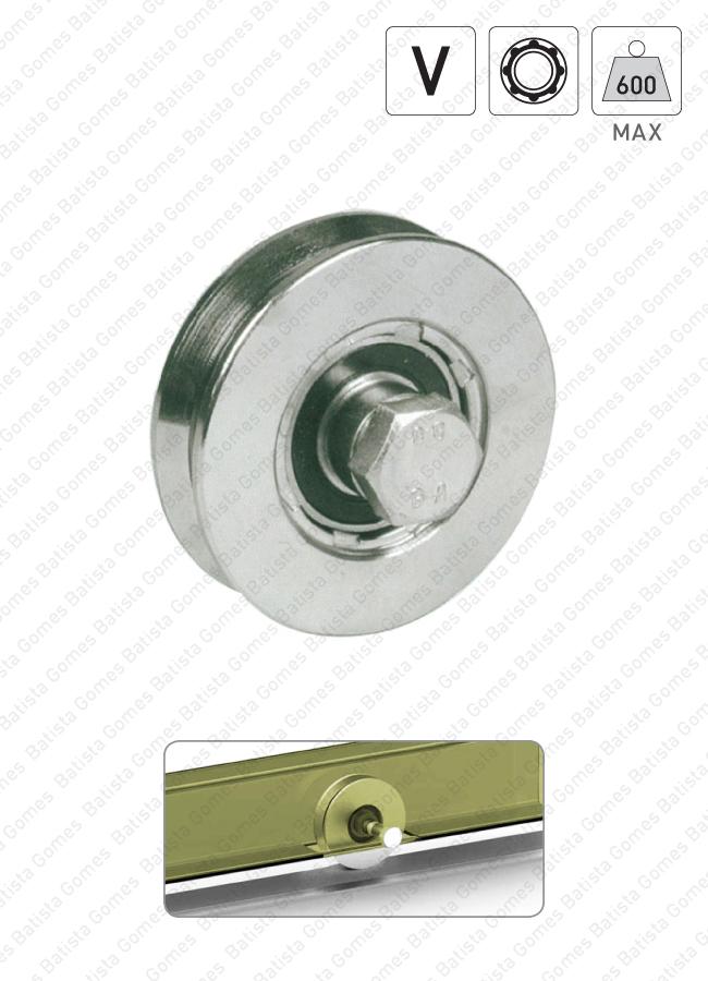 Batista Gomes - R.360 - Roda com canal V / 1 rolamento
