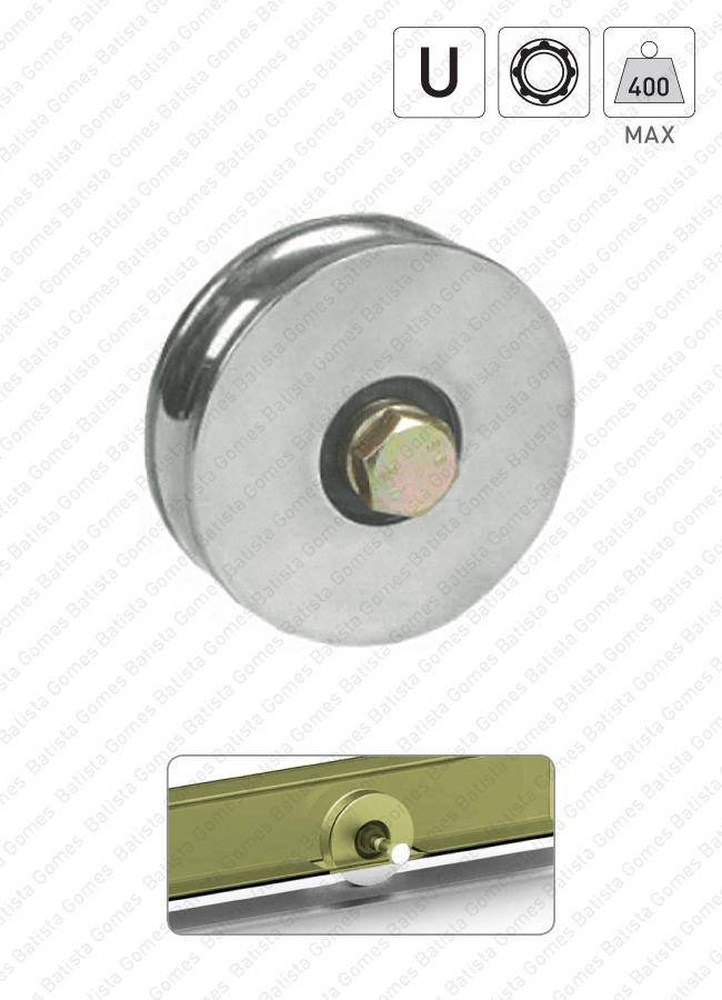 Batista Gomes - R.361 / R.364 - Rodas com canal U / 1 rolamento