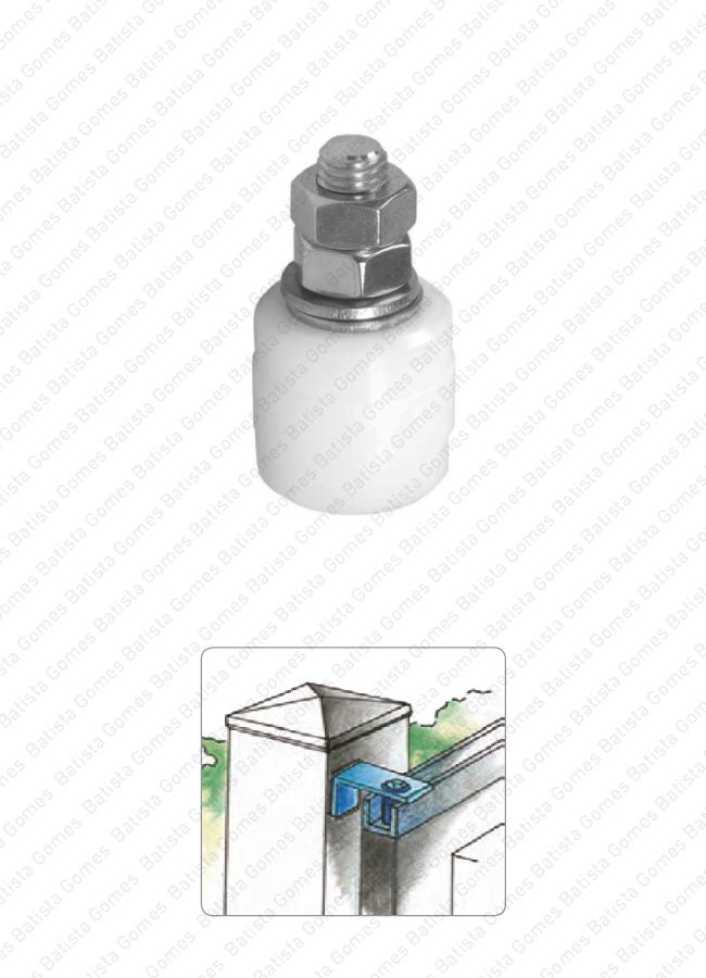 Batista Gomes - R.960 INOX - Rolamento em nylon para portões de correr