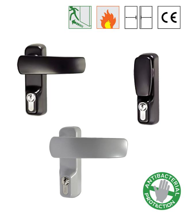 Batista Gomes - TRIM - FBA.9401.xxx - TRIM - Puxadores exteriores para barras anti-pânico ISEO / IDEA