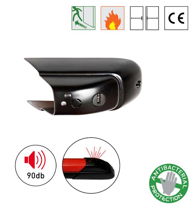 Batista Gomes - FBA.PUSH SIRENA – Dispositivo - Dispositivo de alarme acústico para antipânico ISEO / IDEA PUSH