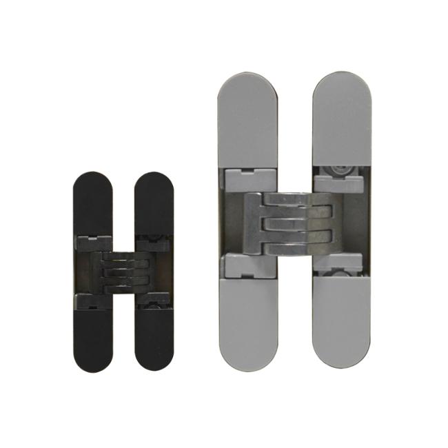Batista Gomes - D.6100.3D - Dobradiça para móveis oculta / invisível 3D - Carga 19kg (4 dobradiças)