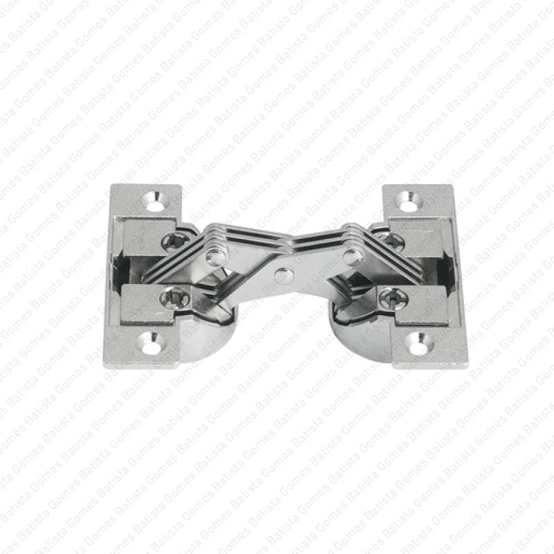 Batista Gomes - D.65.82 - Dobradiça copo para mobiliário para portas com corte em esquadria a 45º