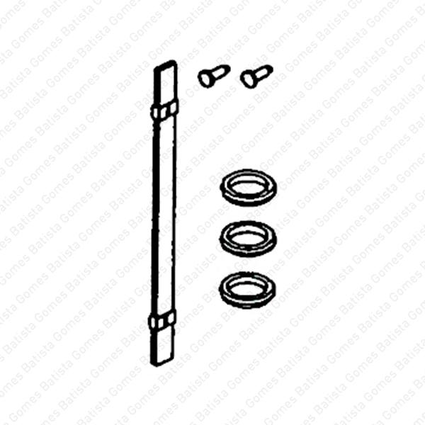 Batista Gomes - MD.55316J - Kit mola aço + anilhas inox 304