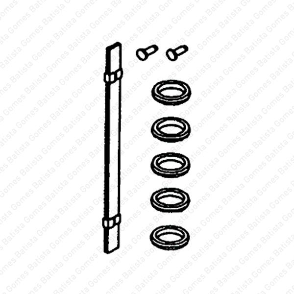 Batista Gomes - MD.55805J - Kit mola aço + anilhas inox 304