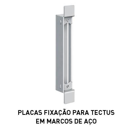 Batista Gomes - Placas fixação Tectus - Placa fixação para TECTUS em marcos de aço