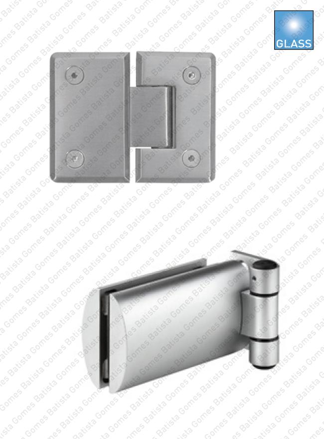 Batista Gomes - Dobradiças para portas em vidro - Dobradiças para portas em vidro