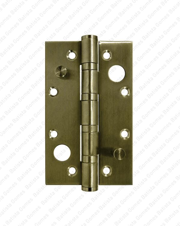 Batista Gomes - DS.8022 - Dobradiça segurança fiel 127x76 - LATÃO (LB)