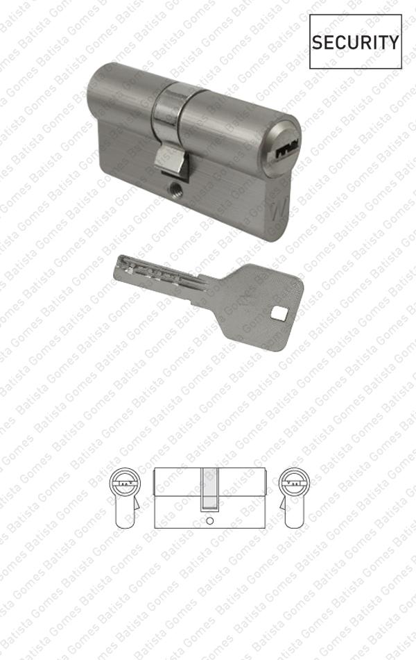 Batista Gomes - CIL.2100 / CIL.2210 - Cilindro segurança perfil europeu - Chave / Chave - Série Eco