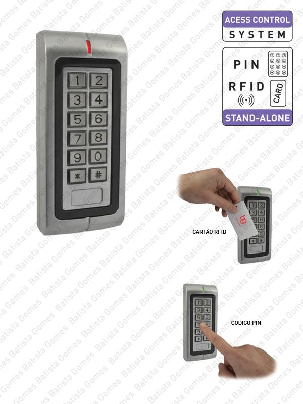 Batista Gomes - CA.6501 - Controlo de Acessos com código e/ou cartão de proximidade