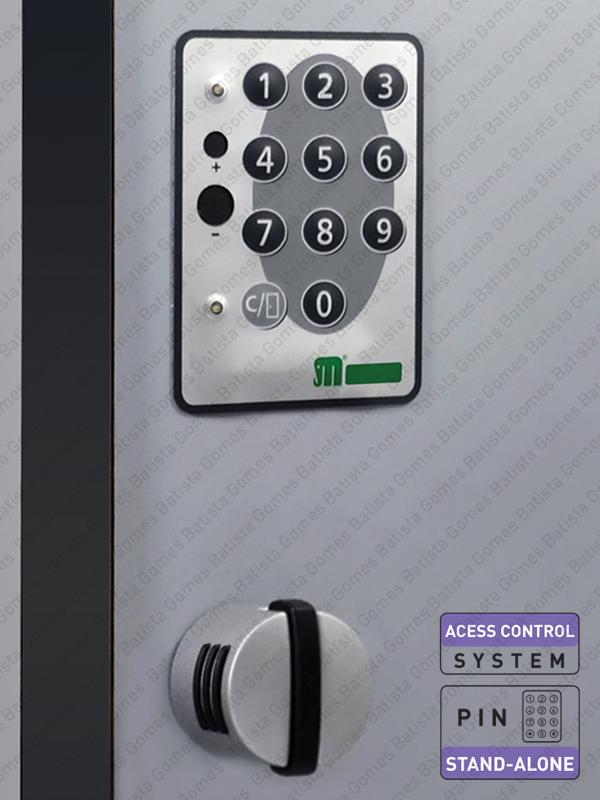 Batista Gomes - CA.9200-KIT - Controlo acessos para armários - Autoprogramáveis / Código