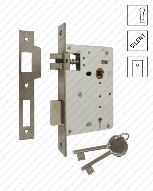 Batista Gomes - F.803.1.01 - Fechadura embutir com chave - INOX 304
