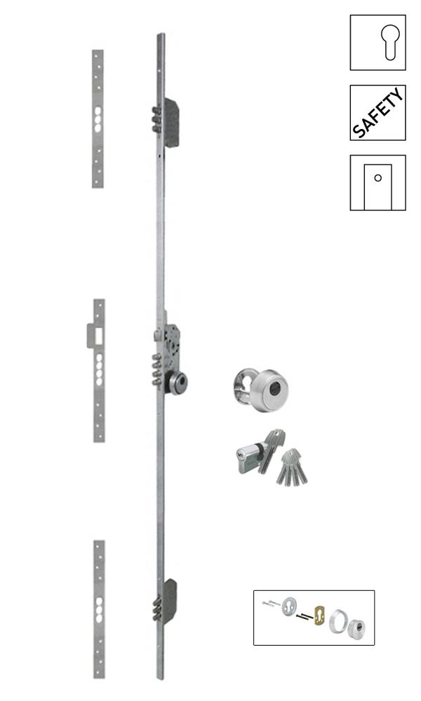 Batista Gomes - F.531.1.03 - Fechadura embutir alta segurança multiponto