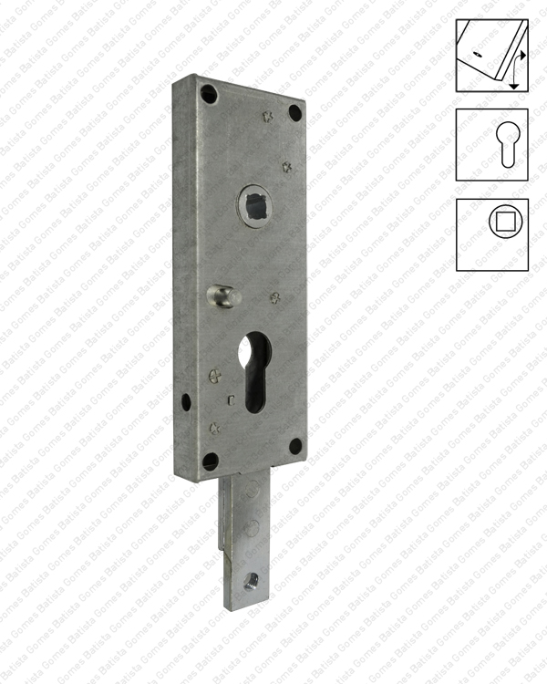 Batista Gomes - F.401.F - Fechadura para portões basculantes