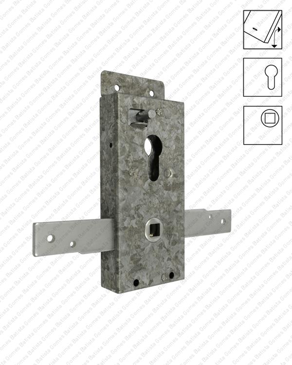 Batista Gomes - F.501.DF / F.501.F - Fechadura para portões basculantes