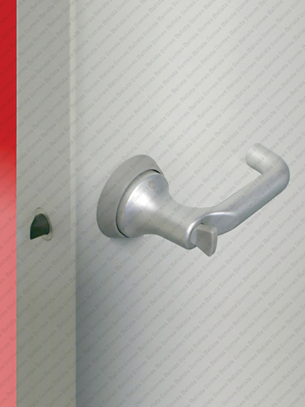 Batista Gomes - F.HCS.A138S Série Paris - Sistema compacto fechadura e puxador para portas de madeira