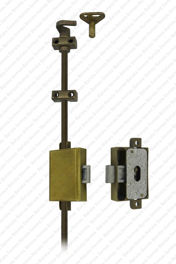 Batista Gomes - F.1010 - Fechadura com varão para armários