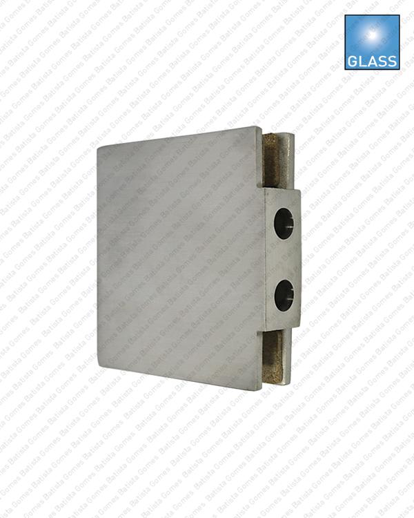 Batista Gomes - F.CX.301V - Caixa / Testa para folha oposta em vidro compatível com fechadura F.300V