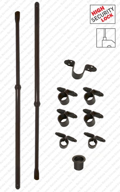 Batista Gomes - JG.TR.130 - Jogo trancas extensíveis