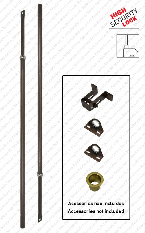 Batista Gomes - JG.TR.990063 - Jogo trancas extensíveis