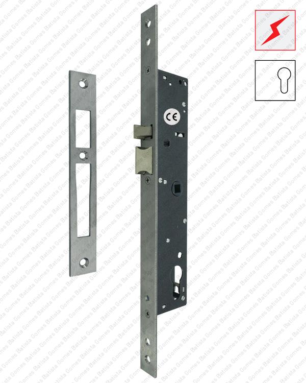 Batista Gomes - F.7817.1.03 - Fechadura eléctrica de embutir para cilindro europeu - Série Electa