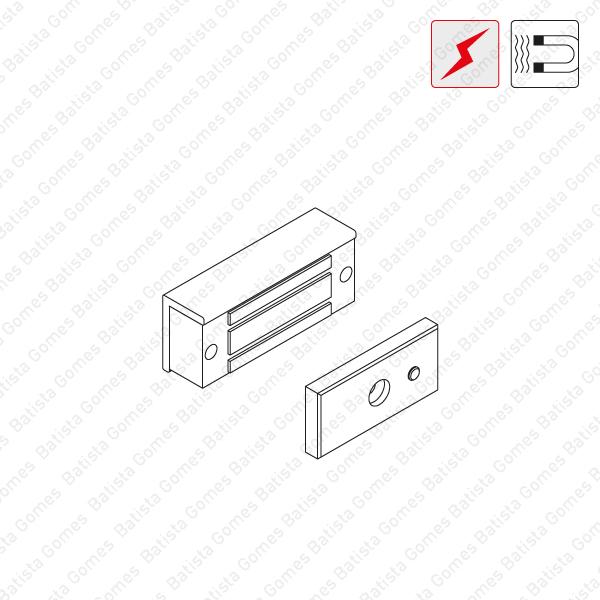 Batista Gomes - F.MEX.070 -  Fechadura electromagnética