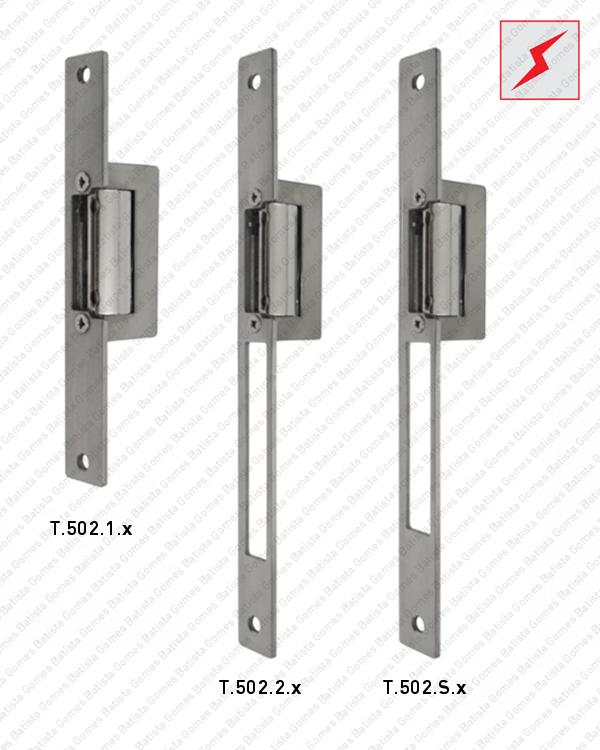 Batista Gomes - T.502.1.x / T.502.1.x / T.502.S.x - Testas eléctricas de embutir - SÉRIE T.502