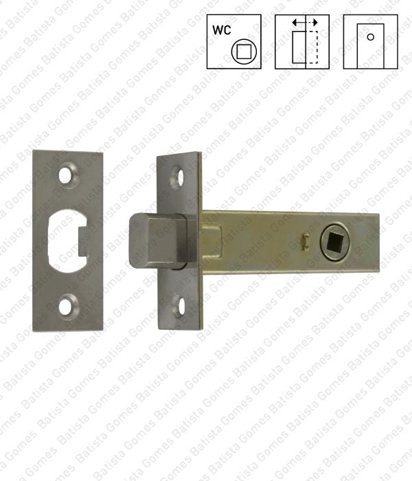 Batista Gomes - T.1509.6.02 - Fecho tubular com língua Q.6mm  - INOX 304