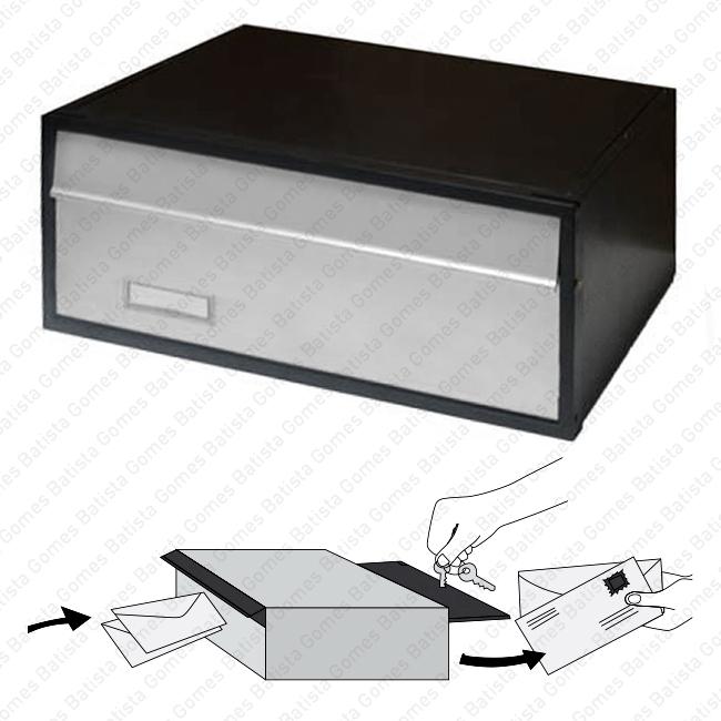 Batista Gomes - CX.4600 / CX.4600.ECO - Caixa para correio - Alumínio