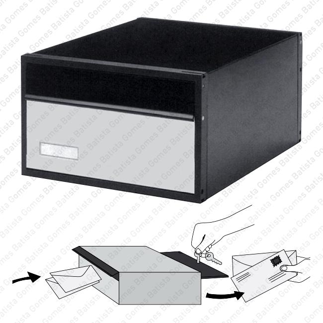 Batista Gomes - CX.4800 - Caixa para correio - Alumínio