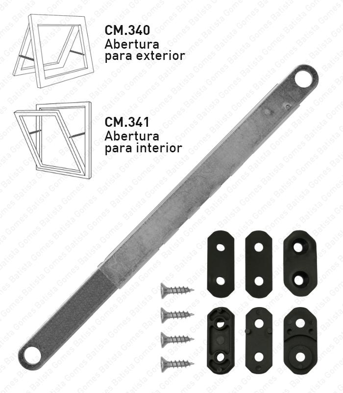 Batista Gomes - CM.340/341 - Compassos projectantes para janelas