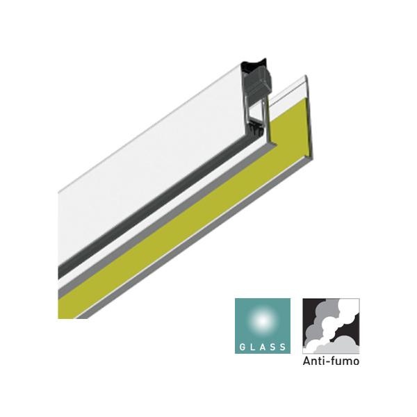 Batista Gomes - VP.2506 - Veda portas sobrep�r para portas de vidro, madeira e met�licas