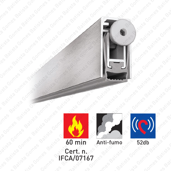 Batista Gomes - VP.2507 - Veda portas encastrável para portas de madeira e metálicas