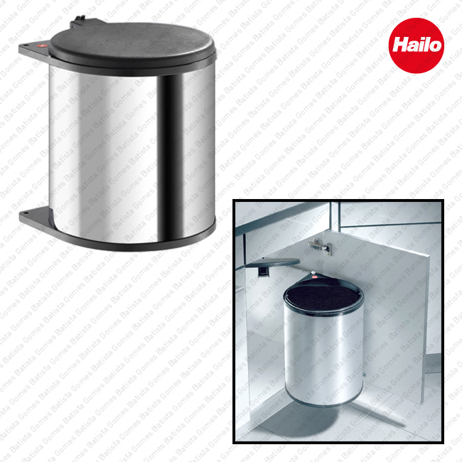 Batista Gomes - BL.3715.10 - Balde de lixo para mobiliário de cozinha