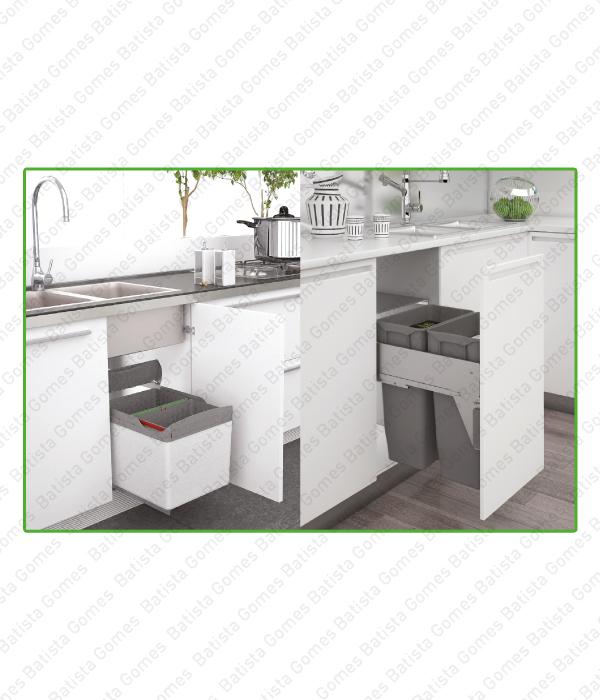 Batista Gomes - Baldes para Lixo - Catálogo Geral - Aplcação porta lateral ou frontal e para gavetões